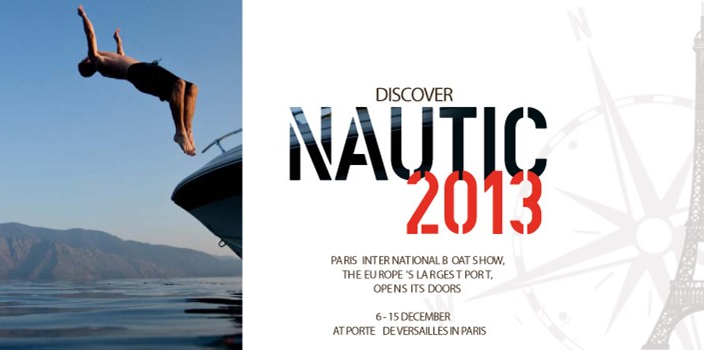 "MAX POWER   ""MAXpropulseur""   Salon Nautique   International de Paris"