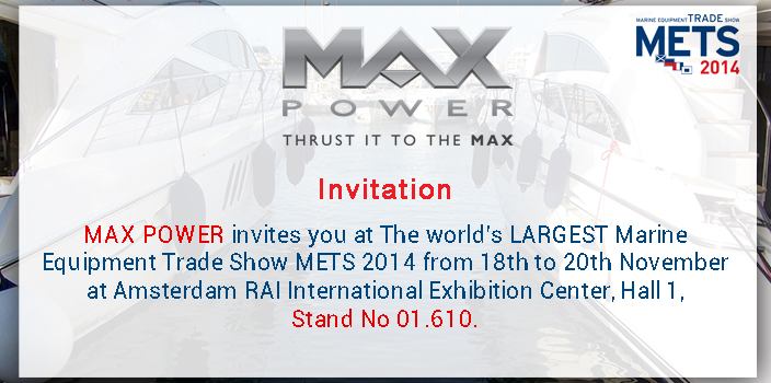 Max Power au Salon du METS 2014