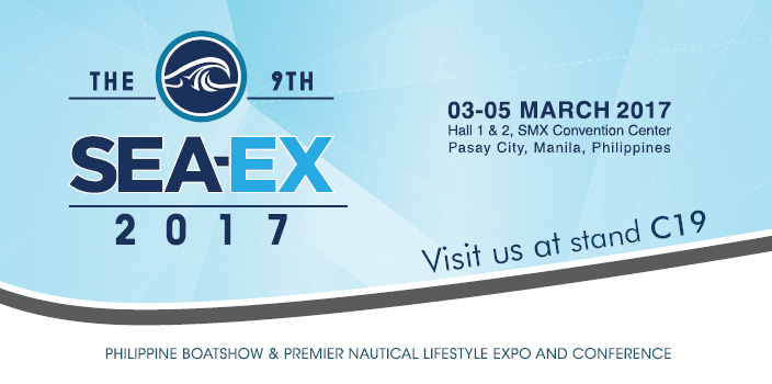 Propulseurs MAX POWER au Salon Nautique  SEA-EX 2017